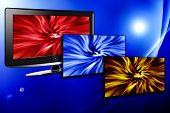 Lcd Plasma Tv With Power