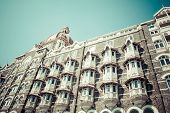 stock photo of british bombay  - Taj Mahal Palace in Bombay India Asia - JPG