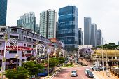 KUALA LUMPUR, MALAYSIA - MARCH 29: One of the streets in the city center on March 29, 2012 in Kuala Lumpur. KL was ranked 48th among global cities by Foreign Policy's.