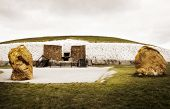 Newgrange Megalithic Passage Tomb Entrance