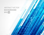 foto of line  - Abstract shiny technology lines and light vector background - JPG
