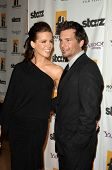 Kate Beckinsale and Len Wiseman at the 13th Annual Hollywood Awards Gala. Beverly Hills Hotel, Bever
