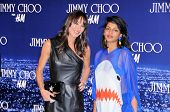 Tamara Mellon and Maya Arulpragasam at the Jimmy Choo For H&M Collection, Private Location, Los Ange