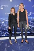 Sheryl Crow and Gabielle Reece at the Jimmy Choo For H&M Collection, Private Location, Los Angeles, CA. 11-02-09
