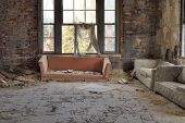 Decayed Living Room