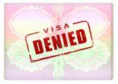Denied Visa On Passport