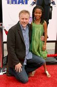 Karey Kirkpatrick and Yara Shahidi  at the Los Angeles Premiere of 'Imagine That'. Paramount Pictures, Hollywood, CA. 06-06-09