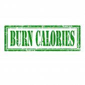 Burn Calories-stamp