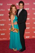 Poppy Montgomery and Adam Kaufman at the Women In Film 2009 Crystal And Lucy Awards. Hyatt Regency C