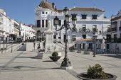 Square in Aracena