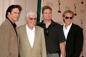 Dick Van Dyke and family  at 'A Father's Day Salute To TV Dads' presented by the Academy of Televisi