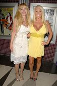 Laurene Landon and Mary Carey  at the Los Angeles Charity Benefit Premiere of 'Bad Cop'. Fairfax Cinemas, West Hollywood, CA. 07-09-09