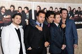 Cast of 'Entourage'  at the Los Angeles Premiere of 'Entourage' Season Six. Paramount Theater, Holly