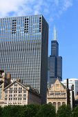Chicago Skyline With Willis Tower