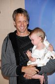 Tony Hawk and his daughter Kadence at the Unveiling of Madame Tussauds Wax Figure of Tony Hawk. Madame Tussauds Wax Museum, Hollywood, CA. 07-29-09