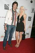 Ronn Moss and Donna Spangler at the Los Angeles Screening of 'Social Lights'. Regency Fairfax Cinemas, Los Angeles, CA. 08-05-09