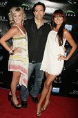 Lucy Rendler-Kaplan with William Dorfman and Ashley Bent at the Reality Cares Leap Foundation Benefit. Sunstyle Tanning Studio, West Hollywood, CA. 08-06-09