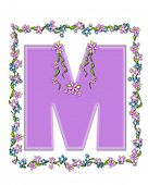 Alphabet Daisy Fair Lilac M