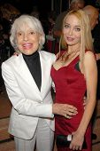 Carol Channing and Lorielle New at the Los Angeles Premiere of 'Gotta Dance'. Linwood Dunn Theatre,