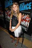 Michaela Carrozzo at the Los Angeles Premiere of 'Gotta Dance'. Linwood Dunn Theatre, Hollywood, CA.