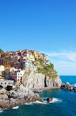 Picturesque view of Manarola