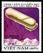 Postage Stamp Vietnam 1983 Ca-11, Balloon