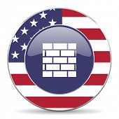 firewall american icon