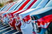 stock photo of wiper  - Brand New Cars in Stock - JPG