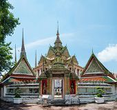 Wat Pho the Temple of Reclining Buddha in Bangkok Thailand