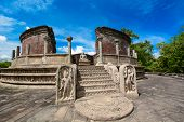 pic of polonnaruwa  - Historical Polonnaruwa capital city ruins in Srilanka - JPG