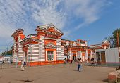 Railway Station In Dmitrov, Russia