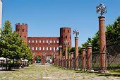 pic of torino  - Porte Palatine Torino Italy - JPG