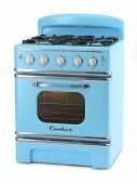 Blue Retro Stove