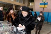 The First Round Of Presidential Elections Of Ukraine
