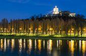 Turin (torino), Monte Dei Cappuccini And River Po