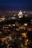 Turin (torino), Night Panorama, Monte Dei Cappuccini