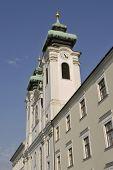 church Saint Ignatius in Gyor Hungary