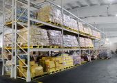 Production In Warehouse Shelves