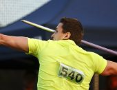 Javelin Throw Man Competitor