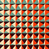 picture of tetrahedron  - Abstract 3d geometric pattern - JPG