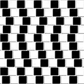 Black And White Tiles Optical Illusion Seamless