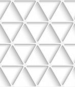 White Triangular Net Seamless