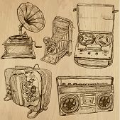 Old Objects No.4 - Hand Drawn Collection