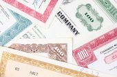image of debenture  - Old stock certificates - JPG