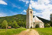 Church in Srednja vas near Semic, Slovenia.