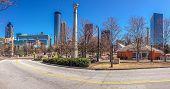Atlanta, Ga, Usa, March 5, 2014 - Centennial Olympic Park Was Built For The Centennial 1996 Summer O