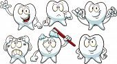 pic of cavities  - Cartoon teeth - JPG