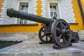 image of artillery  - Ancient artillery Cannons In The Moscow Kremlin Russia - JPG