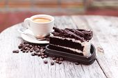 Coffee Bean And Chocolate Cake 2