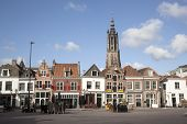 Empty Square On A Sunday Morning In Amersfoort